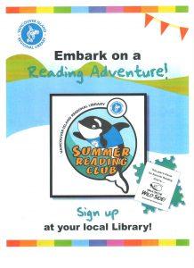 Poster Summer Reading Program - 0-12